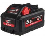 Milwaukee M18 HB5.5 REDLITHIUM-ION™ High Output™ akkumulátor, 18 V, 5.5 Ah