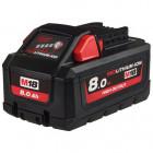 Milwaukee M18 HB8 REDLITHIUM-ION™ High Output™ akkumulátor, 18 V, 8.0 Ah