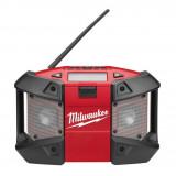 Milwaukee C12 JSR-0 akkus rádió (akku és töltő nélkül)