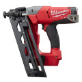 Milwaukee M18 CN16GA-0X FUEL™ akkus szénkefe nélküli döntött finiselő szögbelövő (akku és töltő nélkül)