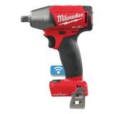 """Milwaukee M18 ONEIWF12-0 akkus ONE-KEY™ FUEL™ ütvecsavarozó biztosítógyűrűvel, 1/2"""" négyszög meghajtással (akku és töltő nélkül)"""