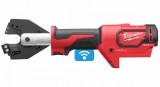 Milwaukee M18 ONEHCC-0C ACSR SET akkus ONE-KEY™ FORCELOGIC™ szénkefe nélküli hidraulikus kábelvágó (akku és töltő nélkül)