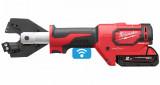 Milwaukee M18 ONEHCC-201C ACSR SET akkus ONE-KEY™ FORCELOGIC™ szénkefe nélküli hidraulikus kábelvágó (1 x 2.0 Ah Li-ion akkuval)