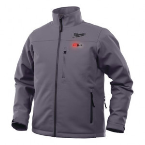 Milwaukee M12 HJ GREY4-0 (XL) prémium fűthető kabát, szürke (akku és töltő nélkül) termék fő termékképe