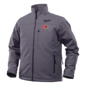 Milwaukee M12 HJ GREY4-0 (2XL) prémium fűthető kabát, szürke (akku és töltő nélkül) termék fő termékképe