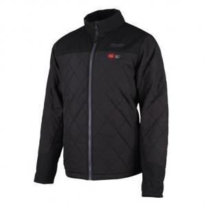 Milwaukee M12 HJP-0 (L) fűthető pufi kabát, fekete (akku és töltő nélkül) termék fő termékképe