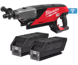 Milwaukee MXF DCD150-302C MX FUEL™ ONE-KEY™ akkus gyémántfúró (2 x 3.0 Ah Li-ion akkuval)