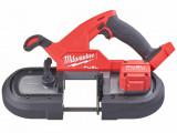 Milwaukee M18 FBS85-0C FUEL™ akkus szénkefe nélküli kompakt szalagfűrész (akku és töltő nélkül)