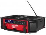 Milwaukee M18 PRCDAB+-0 PACKOUT™ akkus rádió/töltő (akku és töltő nélkül)
