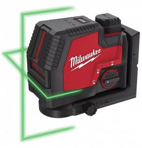 Milwaukee L4 CLL-301C újratölthető 2-vonalas keresztvetítő lézer, zöld termék fő termékképe