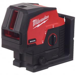 Milwaukee M12 CLLP-0C akkus 2-vonalas keresztvetítő és pontlézer, zöld (akku és töltő nélkül) termék fő termékképe