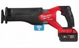 Milwaukee M18 ONEFSZ-502X akkus ONE-KEY™ FUEL™ SAWZALL® szénkefe nélküli szablyafűrész (2 x 5.0 Ah Li-ion akkuval)