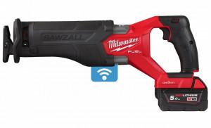 Milwaukee M18 ONEFSZ-502X akkus ONE-KEY™ FUEL™ SAWZALL® szénkefe nélküli szablyafűrész (2 x 5.0 Ah Li-ion akkuval) termék fő termékképe