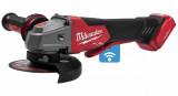 Milwaukee M18 ONEFSAG125XPDB-0X akkus ONE-KEY™ FUEL™ RAPIDSTOP™ szénkefe nélküli sarokcsiszoló (akku és töltő nélkül)