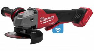 Milwaukee M18 ONEFSAG125XPDB-0X akkus ONE-KEY™ FUEL™ RAPIDSTOP™ szénkefe nélküli sarokcsiszoló (akku és töltő nélkül) termék fő termékképe