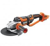 AEG BEWS 18-230 BL-0 Brushless akkus szénkefe nélküli nagy sarokcsiszoló (akku és töltő nélkül)
