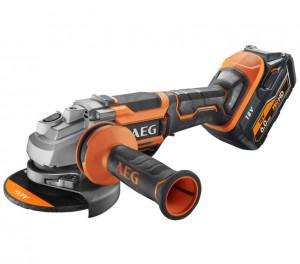 AEG BEWS 18-125 BL PX-602C Brushless akkus szénkefe nélküli sarokcsiszoló (2 x 6.0 Ah Li-ion akkuval) termék fő termékképe