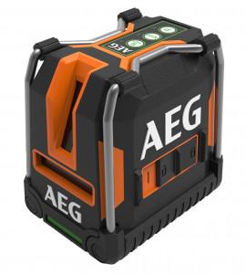 AEG CLG330-K 3-vonalas keresztvetítő lézer lehajtható lábakkal, zöld termék fő termékképe