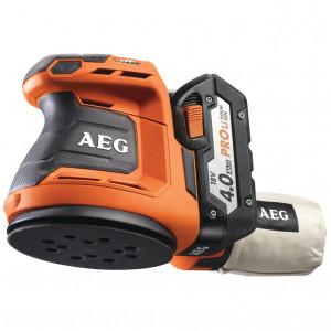 AEG BEX 18-125Li-402C akkus excentercsiszoló (2 x 4.0 Ah Li-ion akkuval) termék fő termékképe