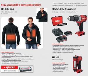 Flex 3 in 1 horgász / vadász csomag (XL) termék fő termékképe