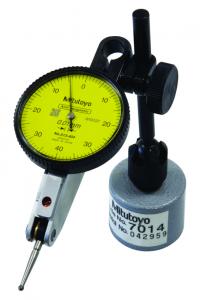 Mitutoyo Szögtapintós mérőóra mini mágneses állvánnyal, vízszintes típus, Ø40 mm, 0.8 mm, 0.01 mm (513-908-10E) termék fő termékképe