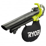 Ryobi RBV36B akkus szénkefe nélküli lombfúvó és -szívó (akku és töltő nélkül)