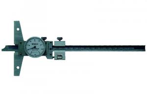 Mitutoyo Órás mélységmérő finomállítóval, 0-200 mm, 0.05 mm (527-302-50) termék fő termékképe