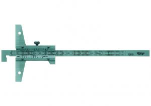 Mitutoyo Nóniuszos mélységmérő horgas véggel, 0-300 mm, 0.05 mm (527-403) termék fő termékképe