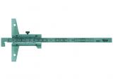 Mitutoyo Nóniuszos mélységmérő horgas véggel, 0-150 mm, 0.05 mm (527-401)