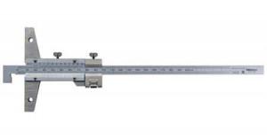 Mitutoyo Nóniuszos mélységmérő horgas véggel, finomállítóval, 0-150 mm, 0.02 mm (527-411) termék fő termékképe