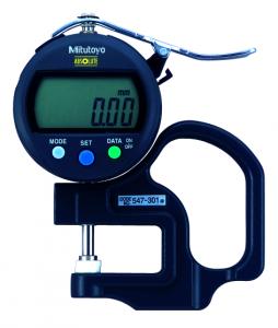 Mitutoyo ABSOLUTE Digimatic gyors-vastagságmérő kerámia tárcsatapintóval, IP42, 0-10 mm, 0.01 mm (547-301) termék fő termékképe