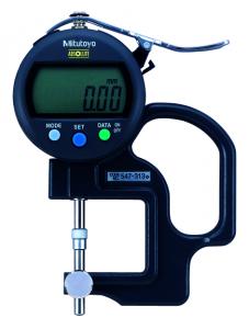 Mitutoyo ABSOLUTE Digimatic gyors-vastagságmérő állítható ülékkel, IP42, 0-10 mm, 0.01 mm (547-313) termék fő termékképe