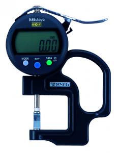 Mitutoyo ABSOLUTE Digimatic gyors-vastagságmérő késél mérőfejjel, IP42, 0-10 mm, 0.01 mm (547-315) termék fő termékképe