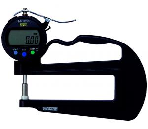 Mitutoyo ABSOLUTE Digimatic gyors-vastagságmérő nagy mérőcsőrrel és kerámia mérőtapintóval, IP42, 0-10 mm, 0.01 mm (547-321) termék fő termékképe
