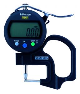 Mitutoyo ABSOLUTE Digimatic gyors-vastagságmérő csőfalvastagság méréséhez, IP42, 0-10 mm, 0.01 mm (547-360) termék fő termékképe