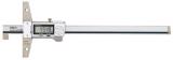 Mitutoyo ABSOLUTE Digimatic mélységmérő horgas véggel, IP67, 10.1-210 mm, 0.01 mm (571-255-20)