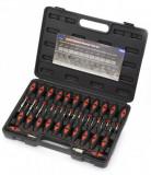 Welzh Werkzeug 60041-WW kábelcsatlakozó szerelő, saru eltávolító készlet, 23 részes
