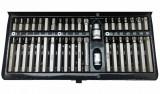 Welzh Werkzeug 6881-WW 10 mm-es befogású bitkészlet, torx, imbusz, spline, rövid és hosszú, 40 részes