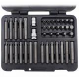 Welzh Werkzeug 6882-WW 10 mm-es befogású profi bitkészlet, torx, imbusz, spline, rövid és hosszú, 40 részes