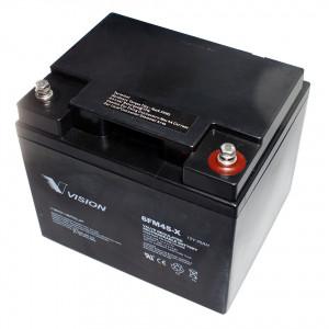 Vision 6FM45X-F11 zárt ólomakkumulátor 12 V/45 Ah termék fő termékképe