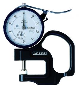 Mitutoyo Analóg órás gyors-vastagságmérő kerámia tárcsatapintóval, 0-10 mm, 0.01 mm (7301) termék fő termékképe