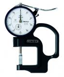Mitutoyo Analóg órás gyors-vastagságmérő késél mérőpofával, 0-10 mm, 0.01 mm (7315)