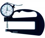 Mitutoyo Analóg órás gyors-vastagságmérő nagy mérőcsőrrel és kerámia tárcsatapintóval, 0-10 mm, 0.01 mm (7321)