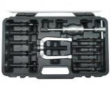Welzh Werkzeug 78910-WW csapágylehúzó készlet csúszókalapáccsal, belső, 8-58 mm, 10 részes
