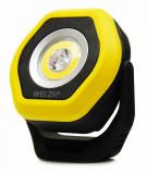Welzh Werkzeug 801-WW tölthető szerelőlámpa, LED 01 COB, 360°, 700 lm, sárga
