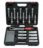 Welzh Werkzeug 8019-WW lengéscsillapító szerelő készlet, 18 részes