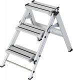 Krause STABILO Professional összecsukható lépcső, 3 fokos