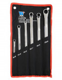 Welzh Werkzeug 816-WW csillagkulcs készlet, egyenes, extra hosszú, metrikus, 6 részes