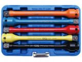 """BGS Technic 9-185 1/2""""-os nyomaték toldószár készlet, 100-150 Nm, 5 részes"""