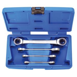 BGS Technic 9-2244 racsnis E-típusú (belső torx) csillagkulcs készlet, 4 részes termék fő termékképe